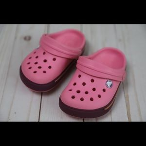 Pink Kids Crocs